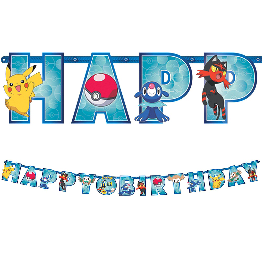 Pokemon Tableware Party Kit for 24 Guests Image #10