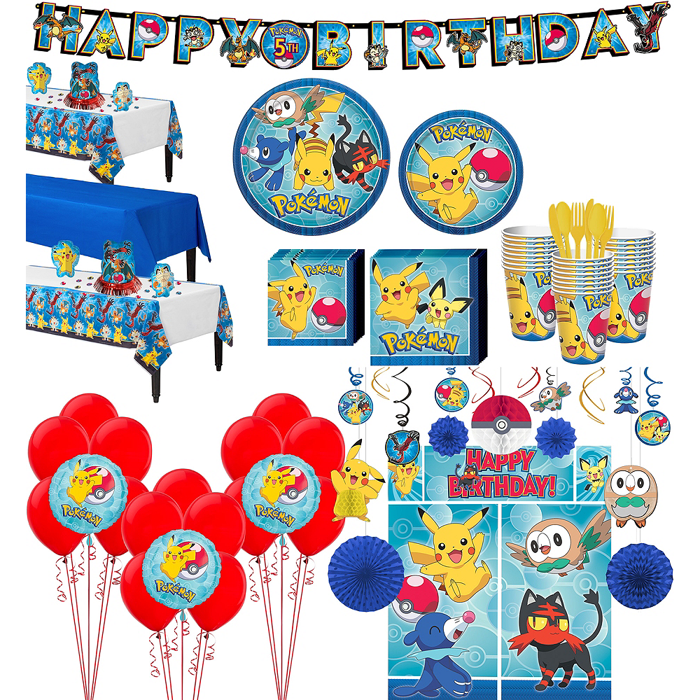 Pokemon Tableware Ultimate Kit for 24 Guests Image #1