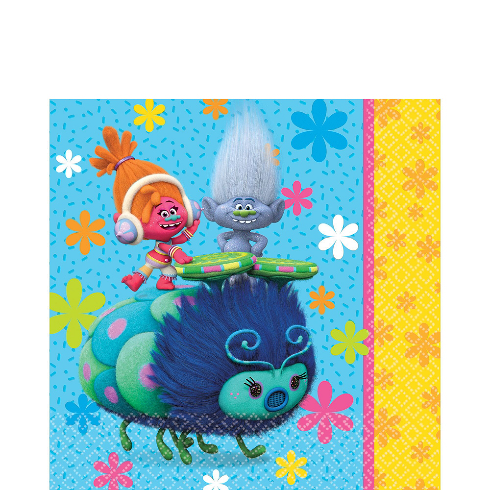 Trolls Tableware Party Kit for 8 Guests Image #3