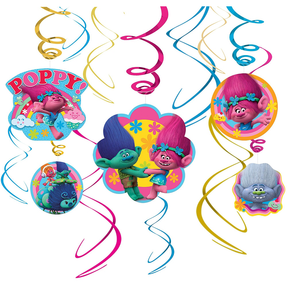 Trolls Decorating Kit Image #3