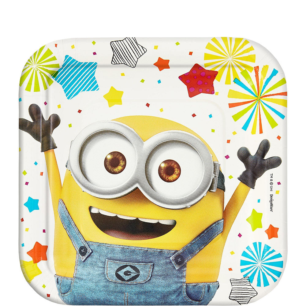 Minions Tableware Party Kit for 8 Guests Image #2