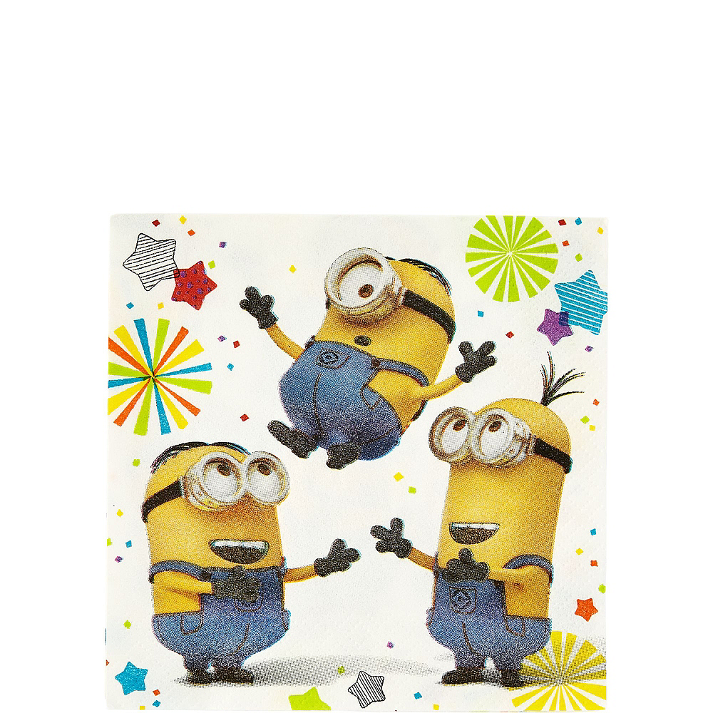 Minions Tableware Party Kit for 8 Guests Image #8