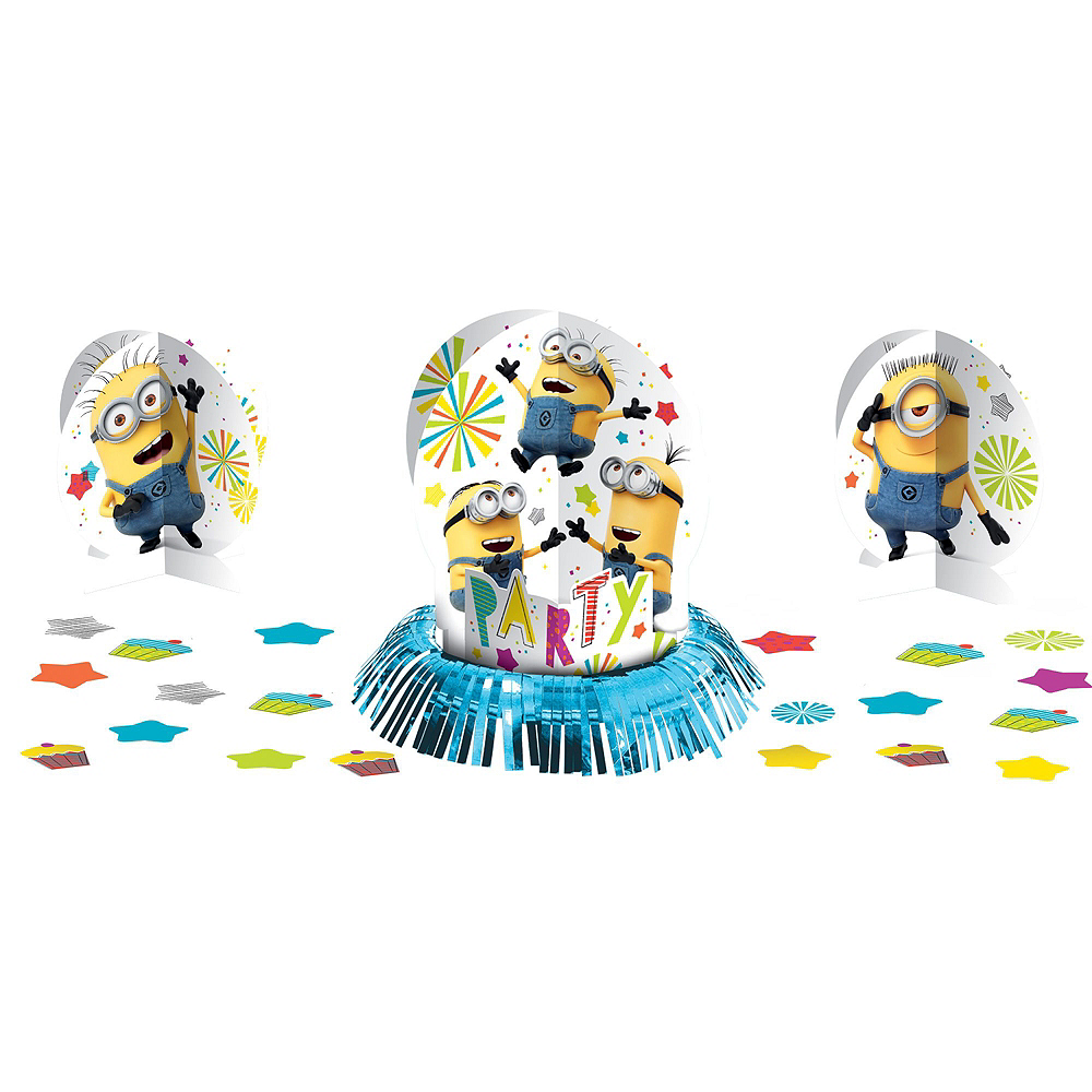 Minions Tableware Party Kit for 8 Guests Image #9