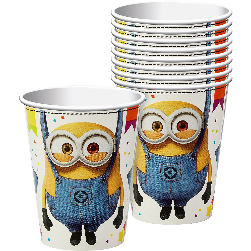 Minions Tableware Party Kit for 24 Guests Image #6