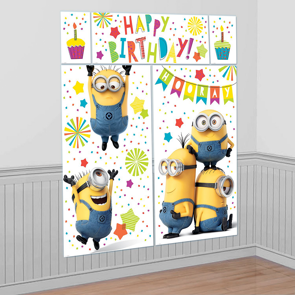 Minions Tableware Ultimate Kit for 16 Guests Image #17
