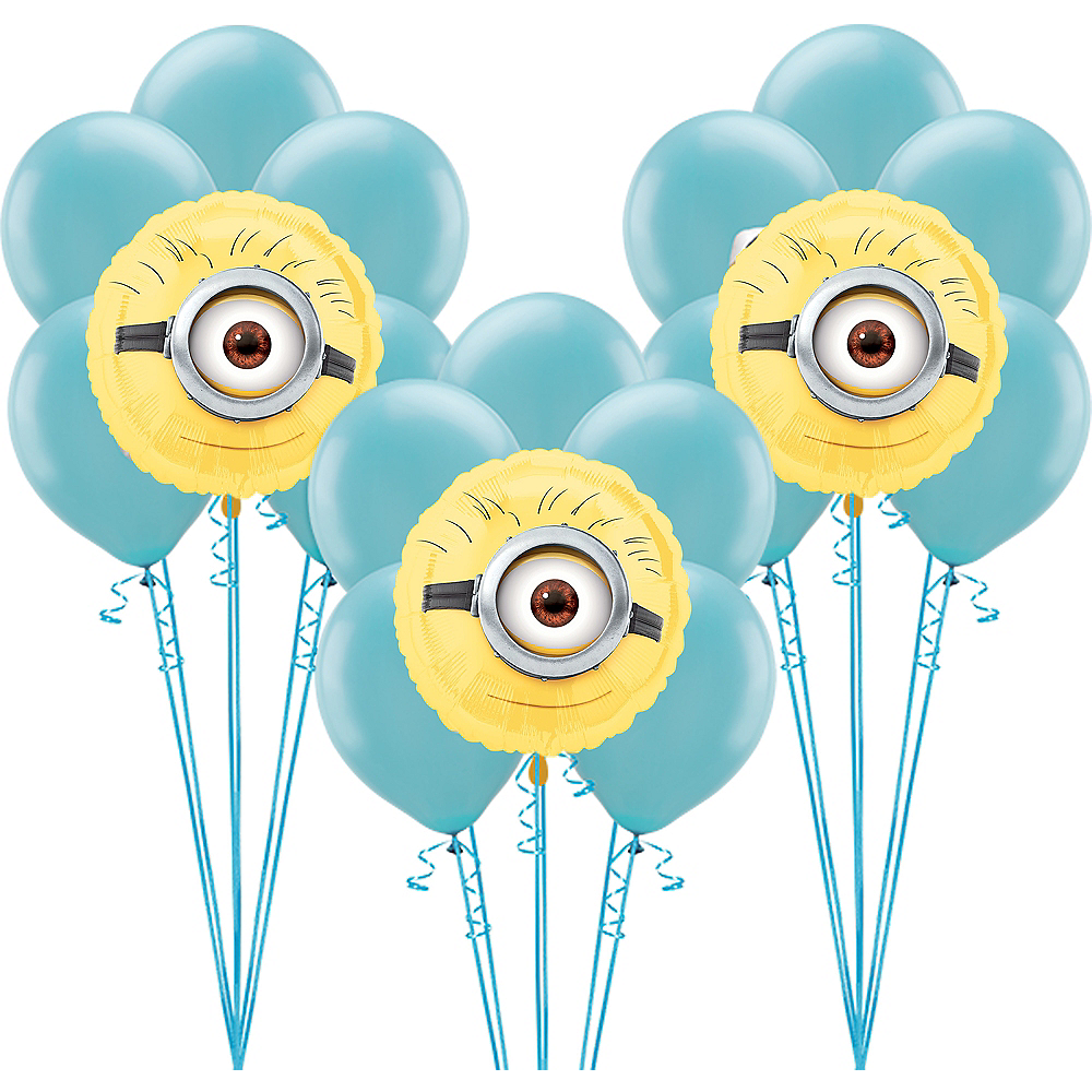 Minions Balloon Kit Image #1