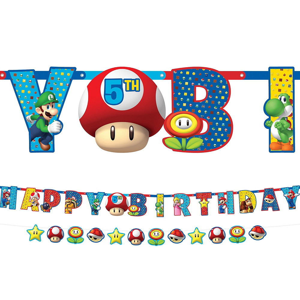 Super Mario Birthday Party Kit for 8 Guests Image #6