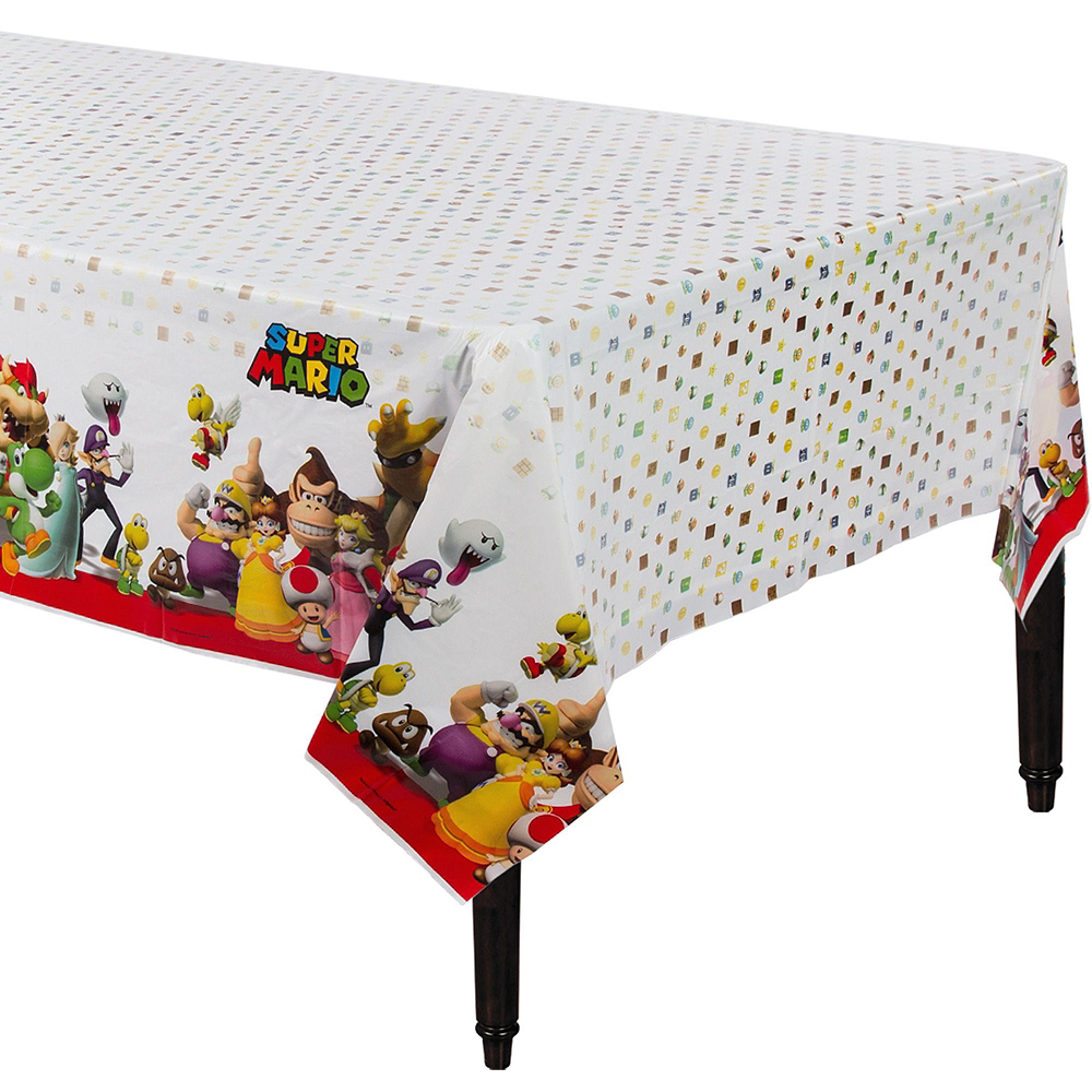 Super Mario Tableware Party Kit for 16 Guests Image #7
