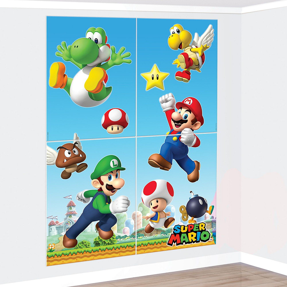 Super Mario Tableware Ultimate Kit for 24 Guests Image #17