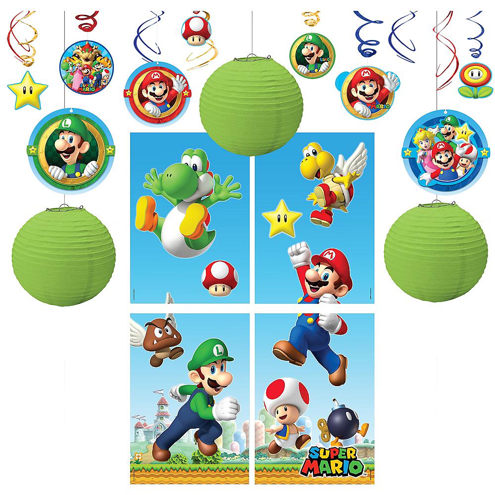 Super Mario Decorating Kit Image #1