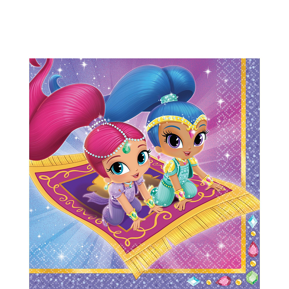 Shimmer and Shine Tableware Party Kit for 8 Guests Image #5