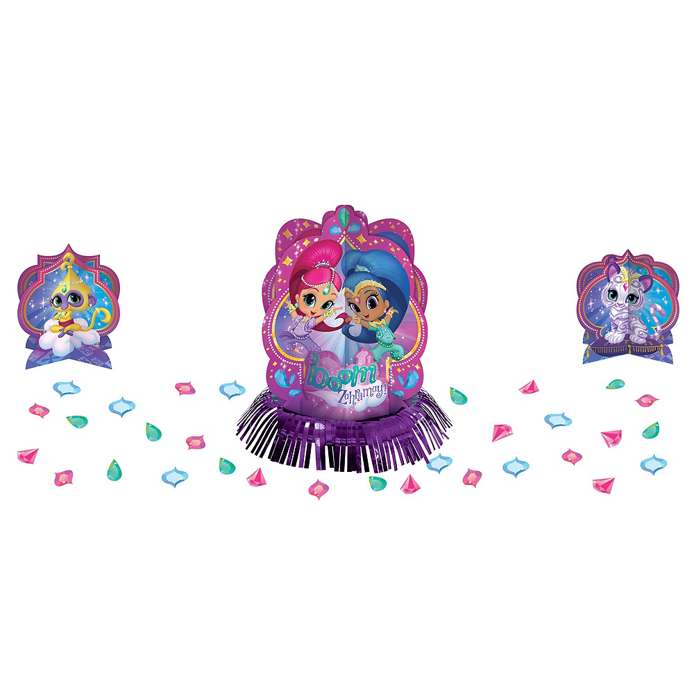 Shimmer and Shine Tableware Party Kit for 8 Guests Image #10