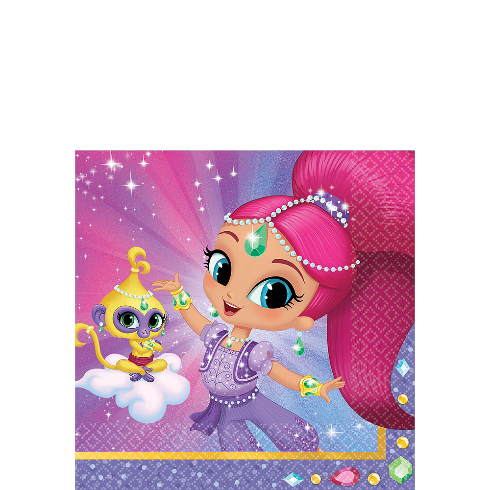Shimmer and Shine Tableware Party Kit for 16 Guests Image #4
