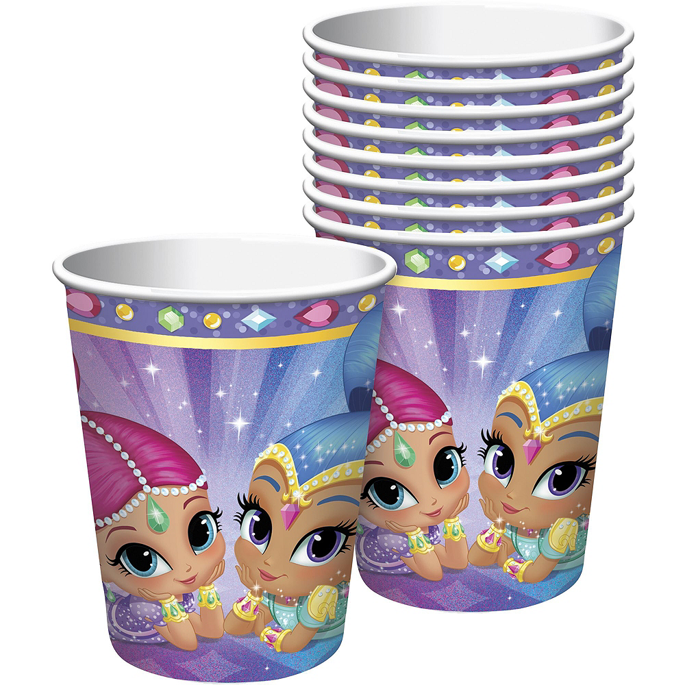 Shimmer and Shine Tableware Party Kit for 16 Guests Image #6