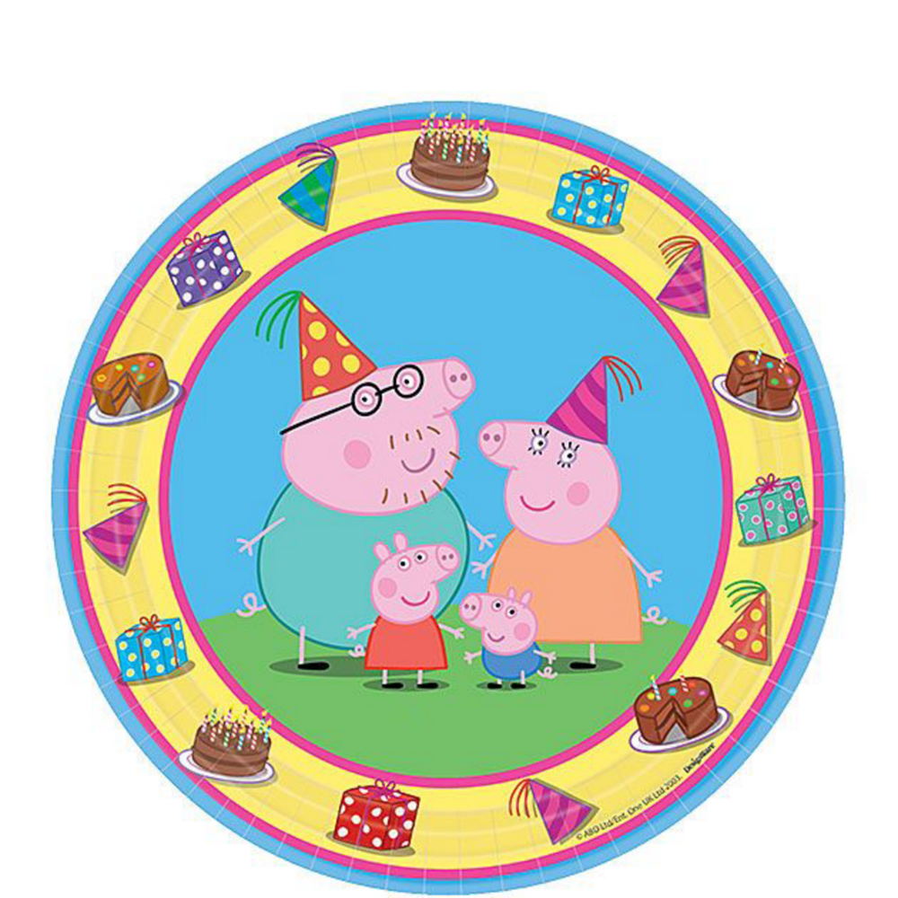 Peppa Pig Tableware Party Kit for 16 Guests Image #2