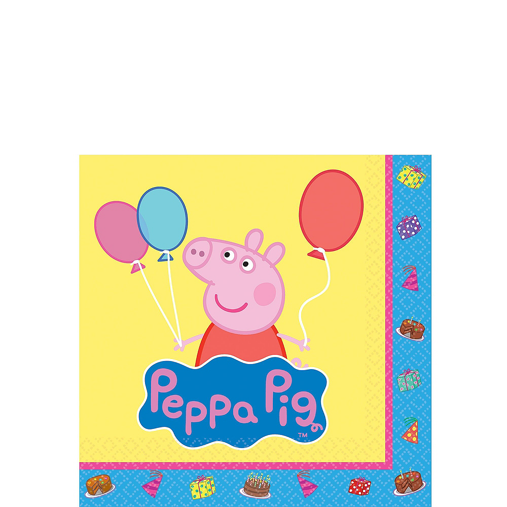 Peppa Pig Tableware Party Kit for 16 Guests Image #4