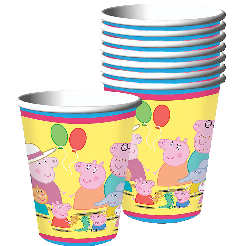 Peppa Pig Tableware Party Kit for 16 Guests Image #6