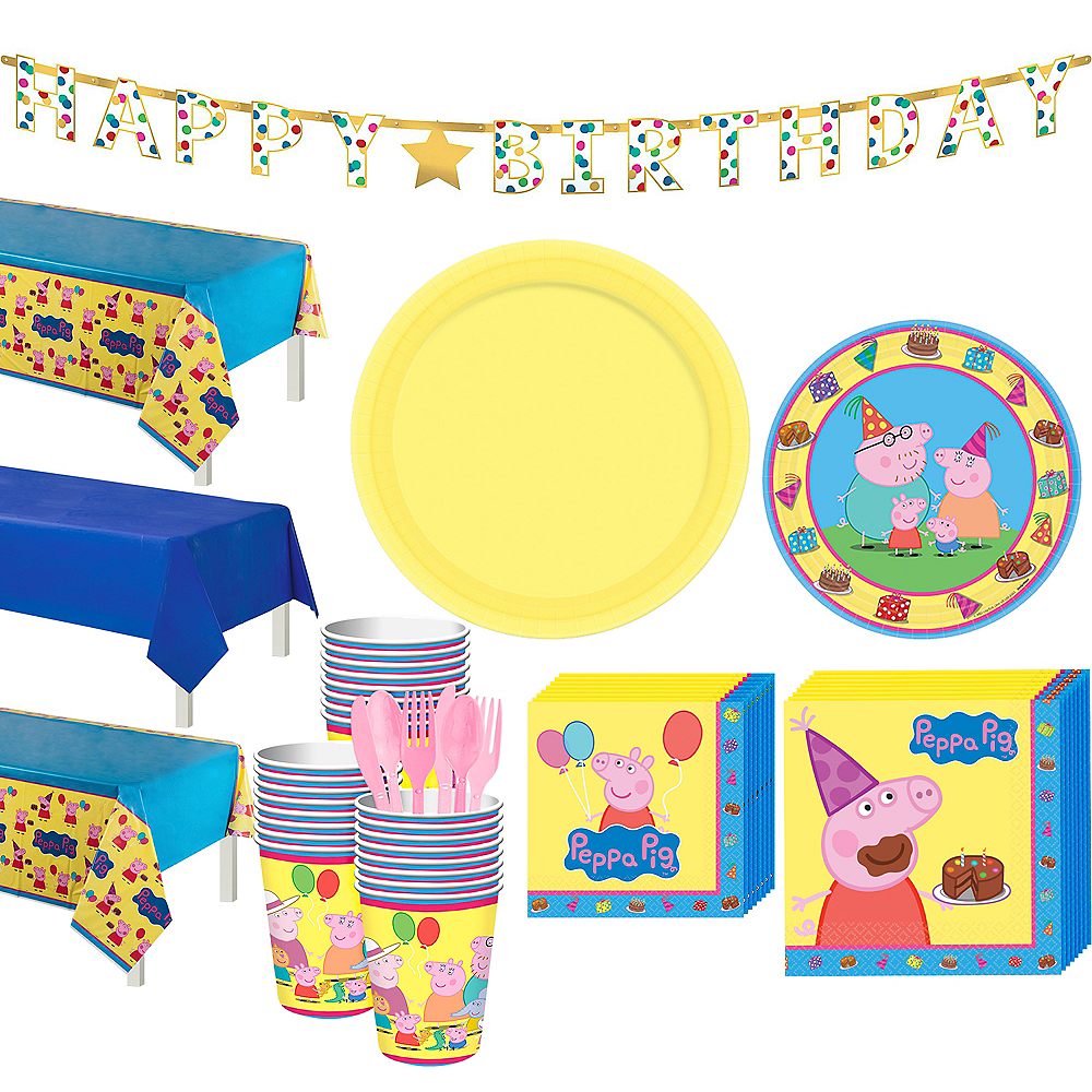 Nav Item For Peppa Pig Tableware Party Kit 24 Guests Image 1