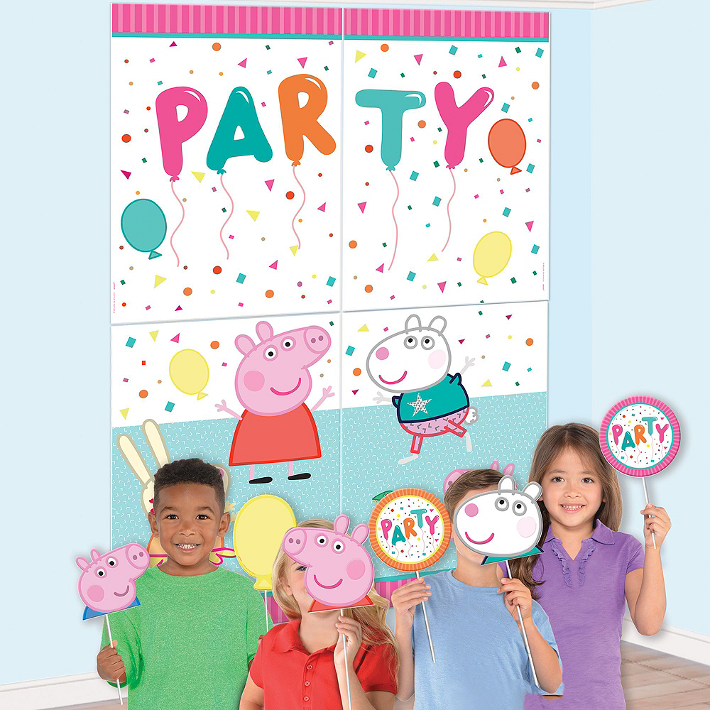 Peppa Pig Birthday Party Decorating Kit Image #2