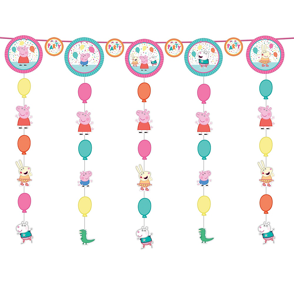 Peppa Pig Birthday Party Decorating Kit Image #5