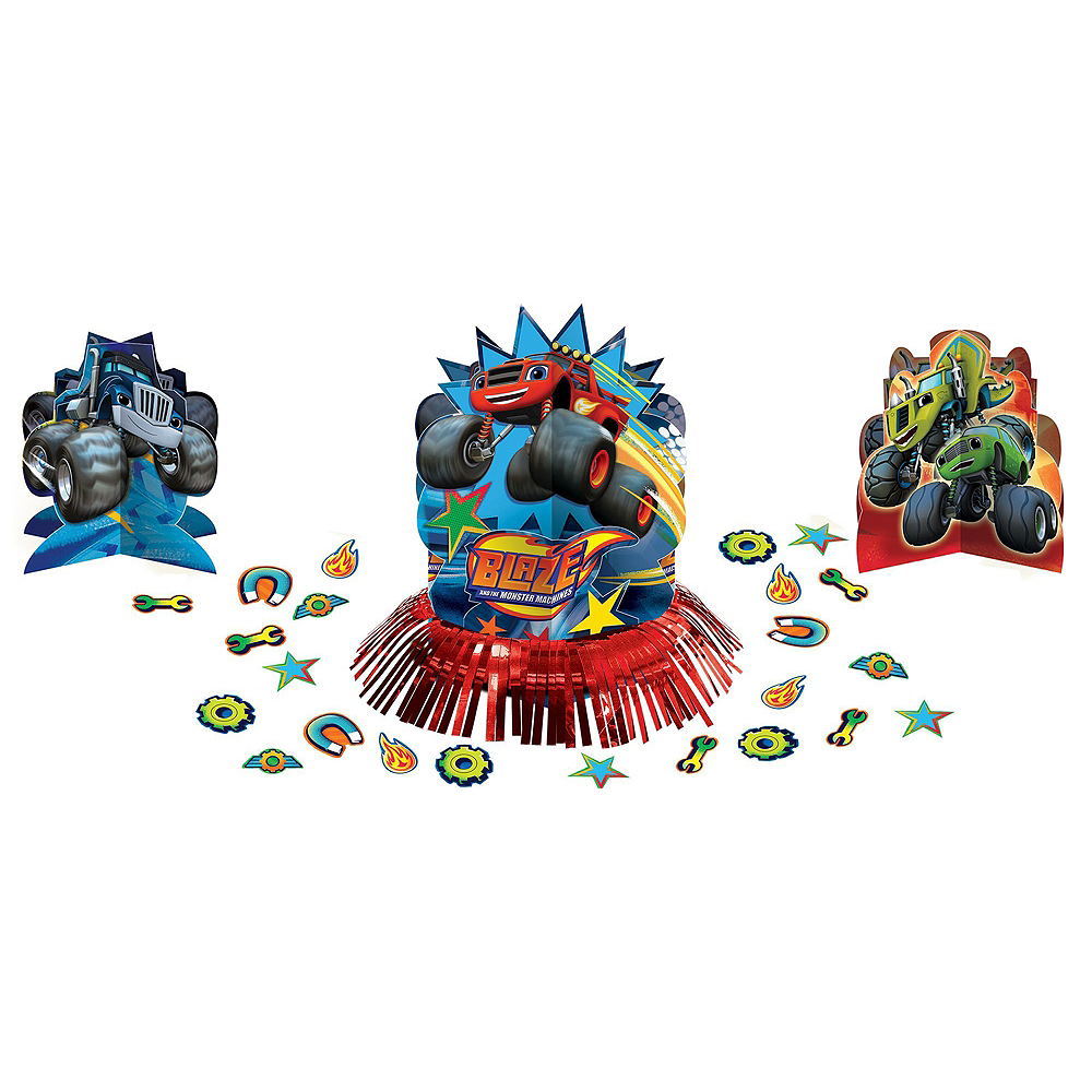 Blaze and the Monster Machines Tableware Party Kit for 16 Guests Image #11