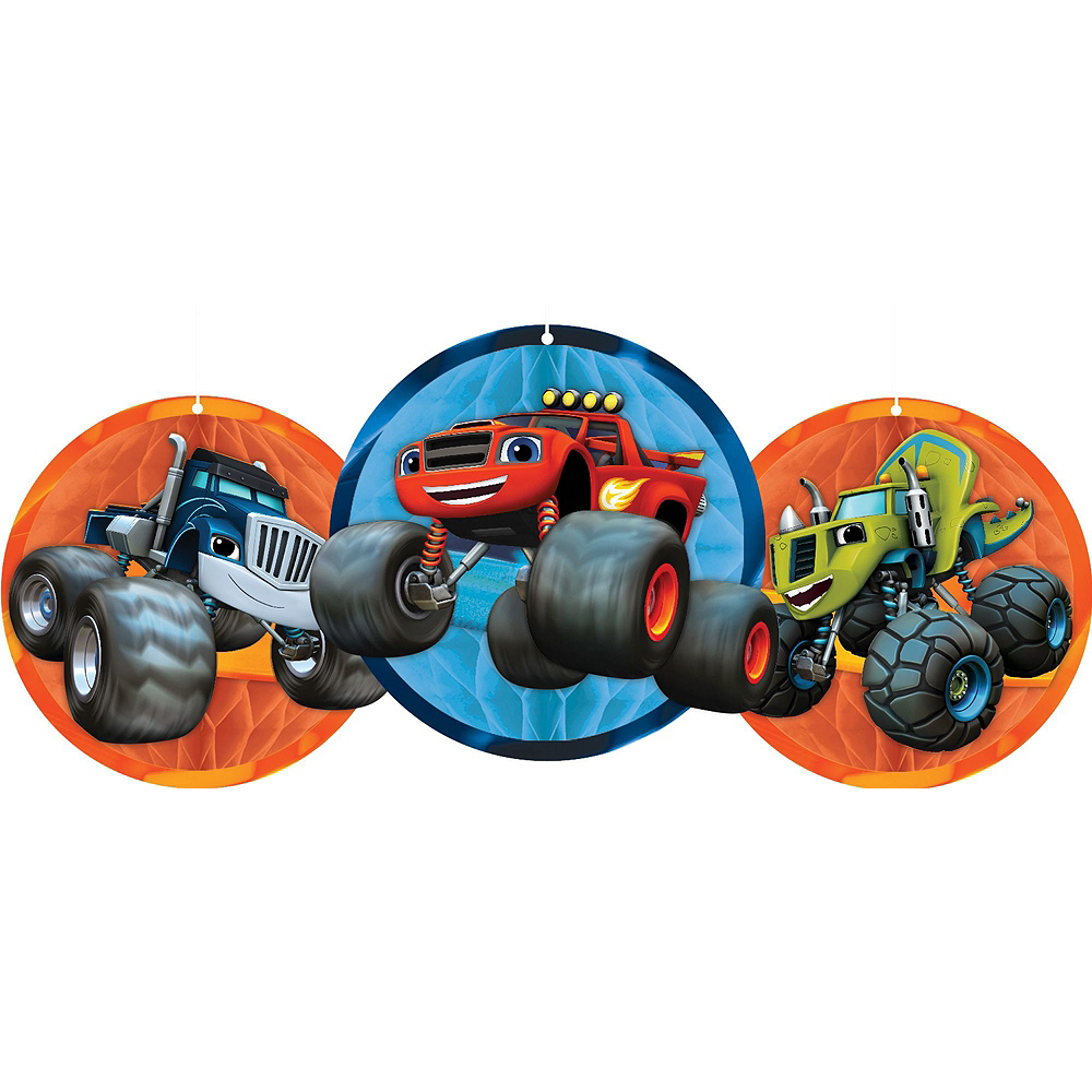 Blaze and the Monster Machines Tableware Ultimate Kit for 16 Guests Image #14