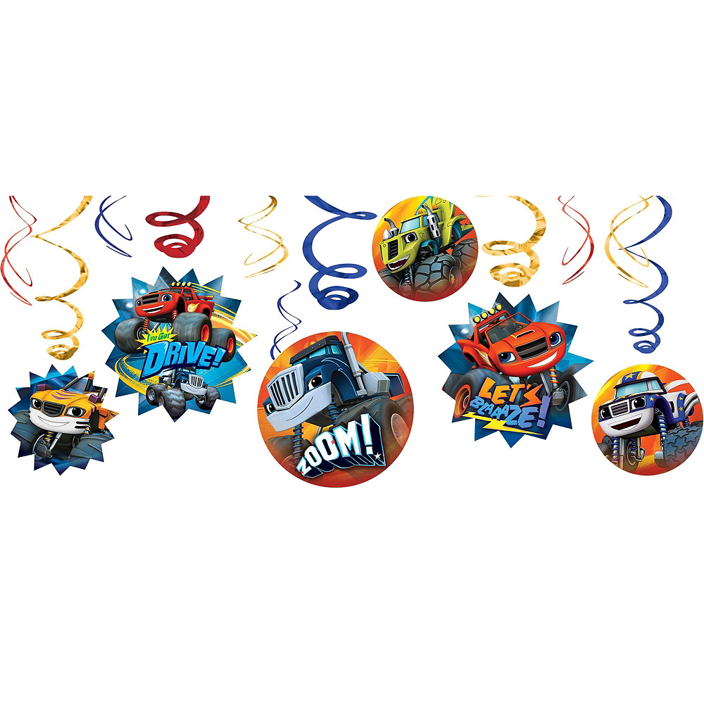 Blaze and the Monster Machines Tableware Ultimate Kit for 16 Guests Image #17