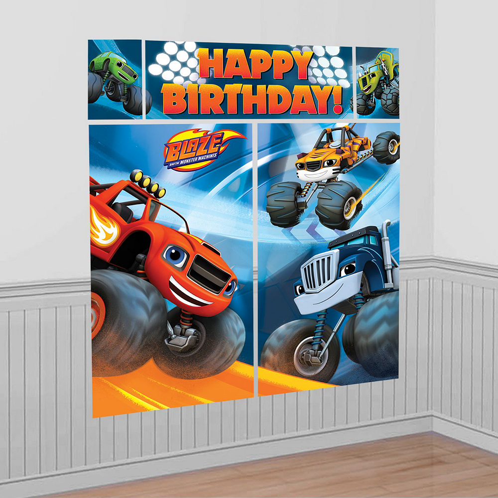 Blaze and the Monster Machines Tableware Ultimate Kit for 16 Guests Image #18