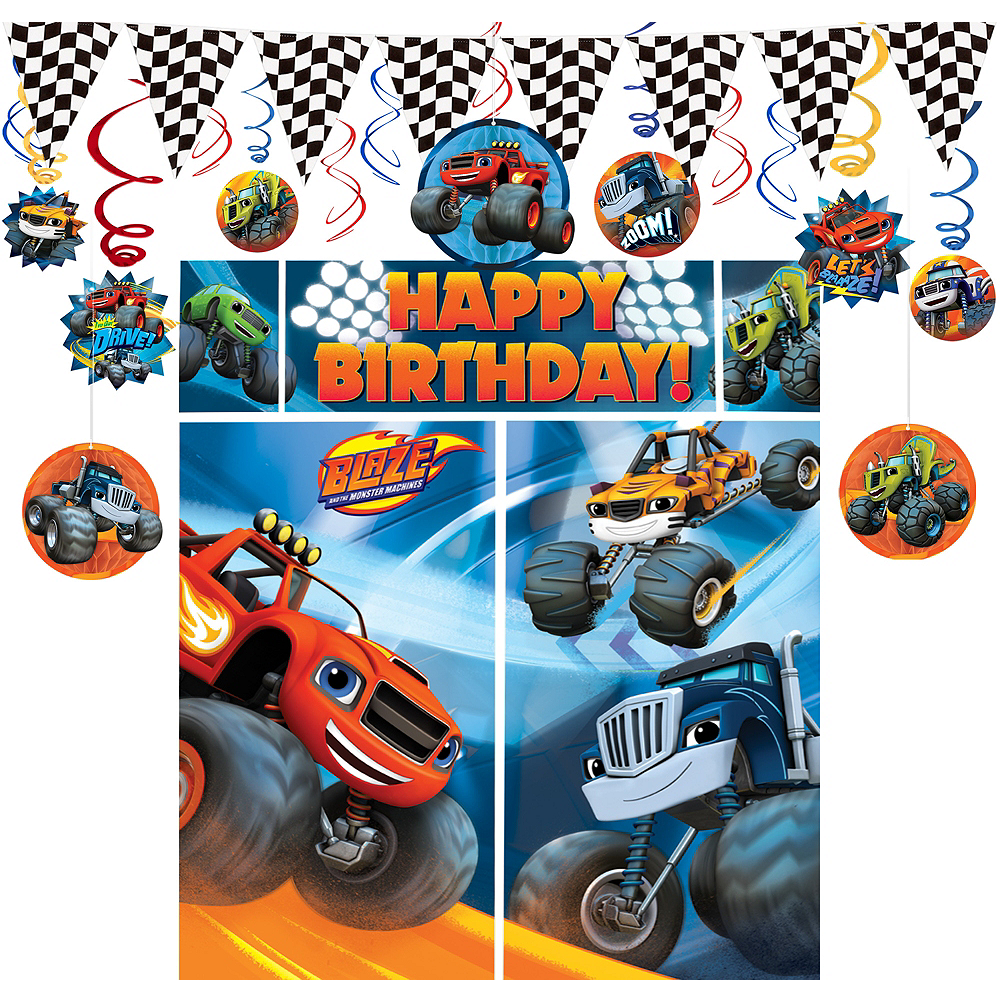 Blaze and the Monster Machines Decorating Kit Image #1