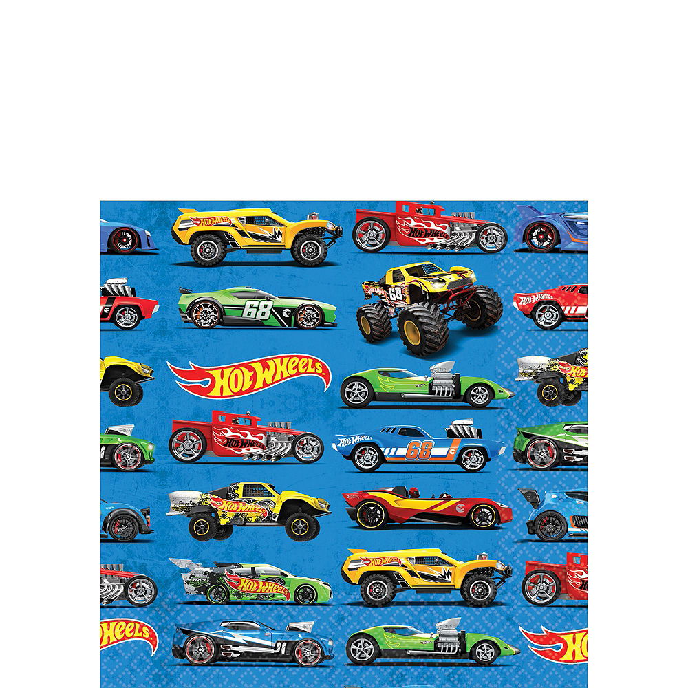 Hot Wheels Tableware Party Kit for 16 Guests Image #4
