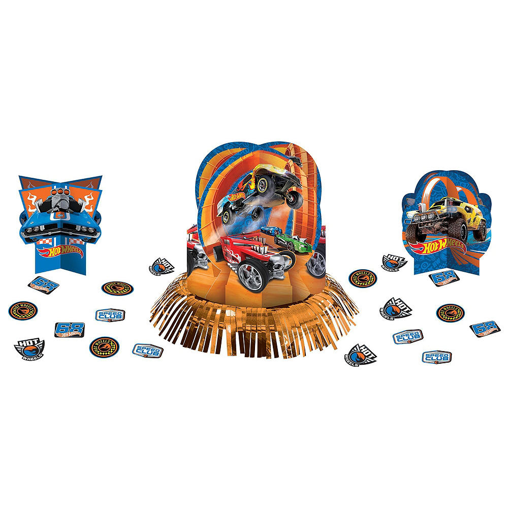 Hot Wheels Tableware Party Kit for 16 Guests Image #10