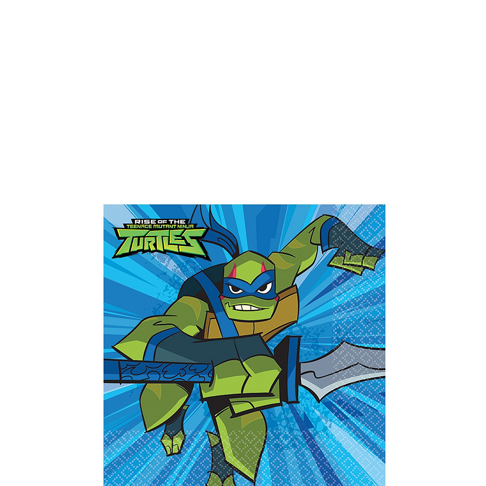 Nav Item for Rise of the Teenage Mutant Ninja Turtles Tableware Kit for 16 Guests Image #4