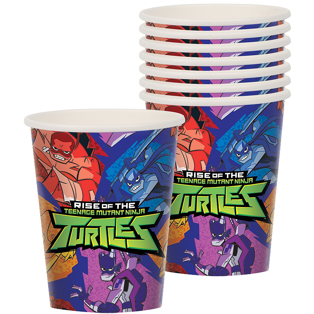 Rise of the Teenage Mutant Ninja Turtles Tableware Kit for 16 Guests Image #6