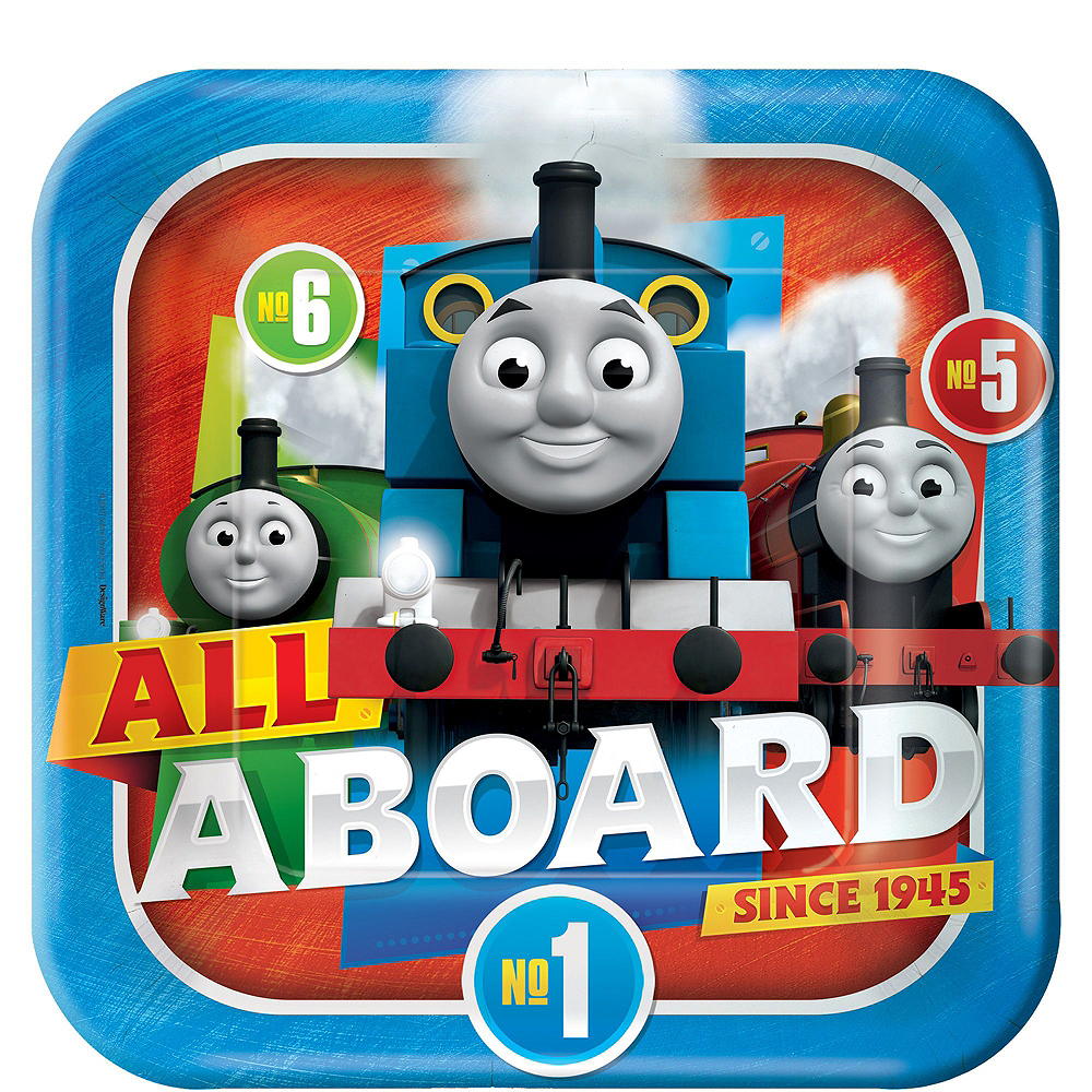 Thomas The Tank Engine Tableware Party Kit for 8 Guests Image #3