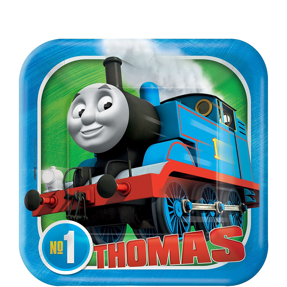 Thomas The Tank Engine Tableware Party Kit for 16 Guests Image #2