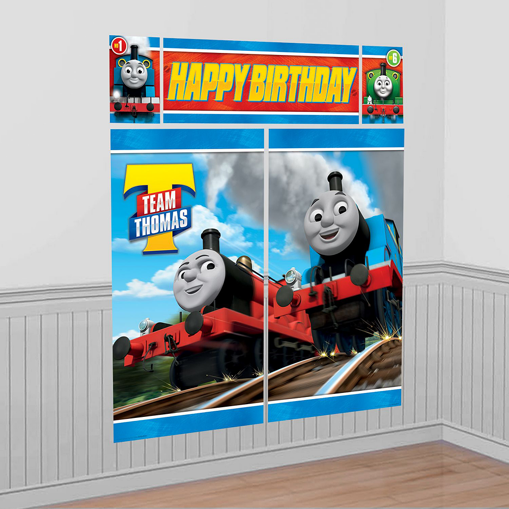 Thomas The Tank Engine Tableware Ultimate Kit for 16 Guests Image #17