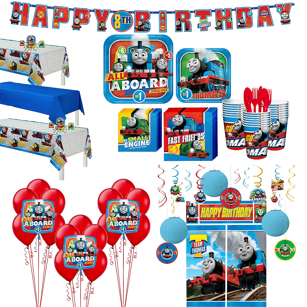 Thomas The Tank Engine Tableware Ultimate Kit for 24 Guests Image #1
