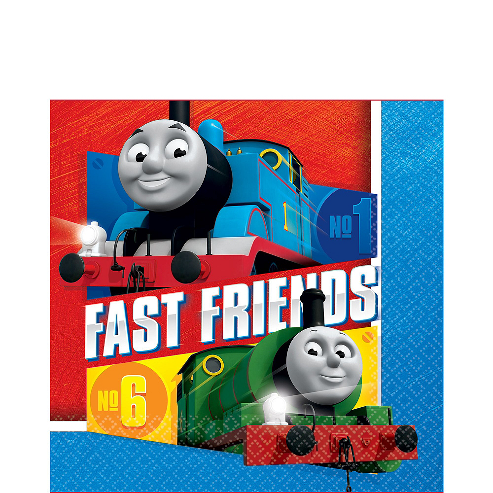 Thomas The Tank Engine Tableware Ultimate Kit for 24 Guests Image #5