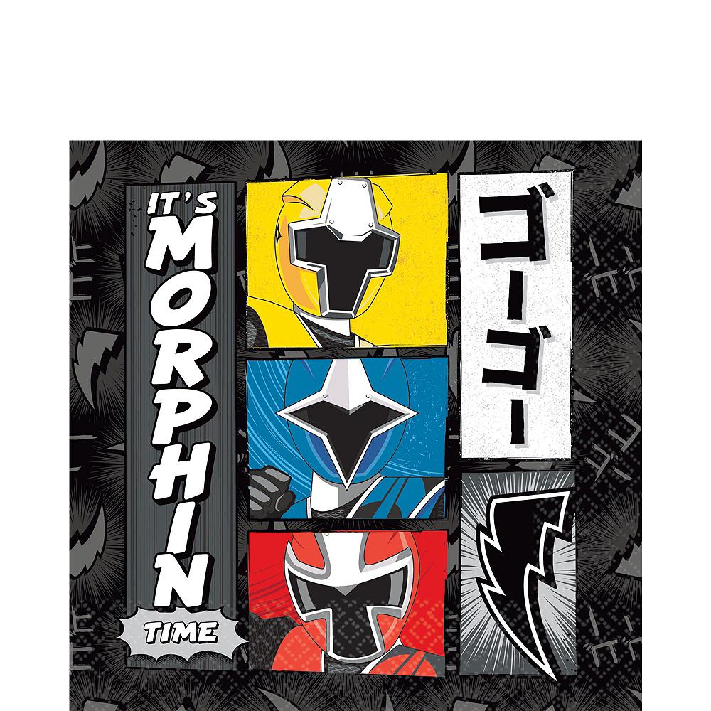 Power Rangers Ninja Steel Tableware Party Kit for 16 Guests Image #5