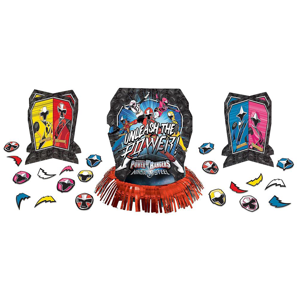 Power Rangers Ninja Steel Tableware Party Kit for 24 Guests Image #11