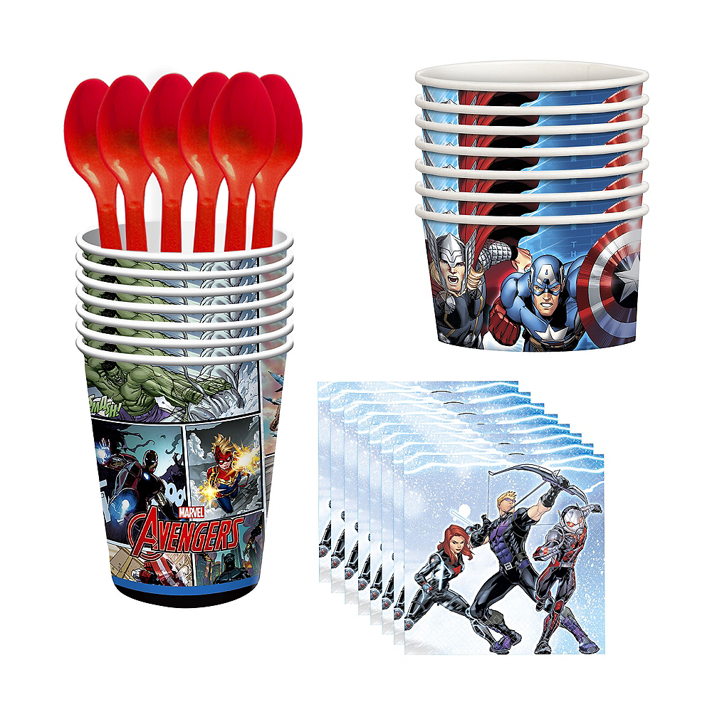 Avengers Tableware Party Kit For 8 Guests Image 1