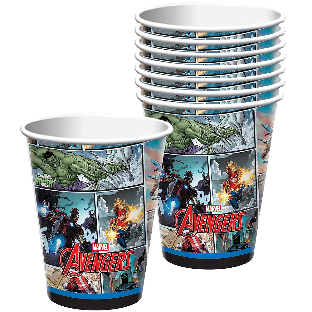 Avengers Standard Tableware Kit for 8 Guests Image #3