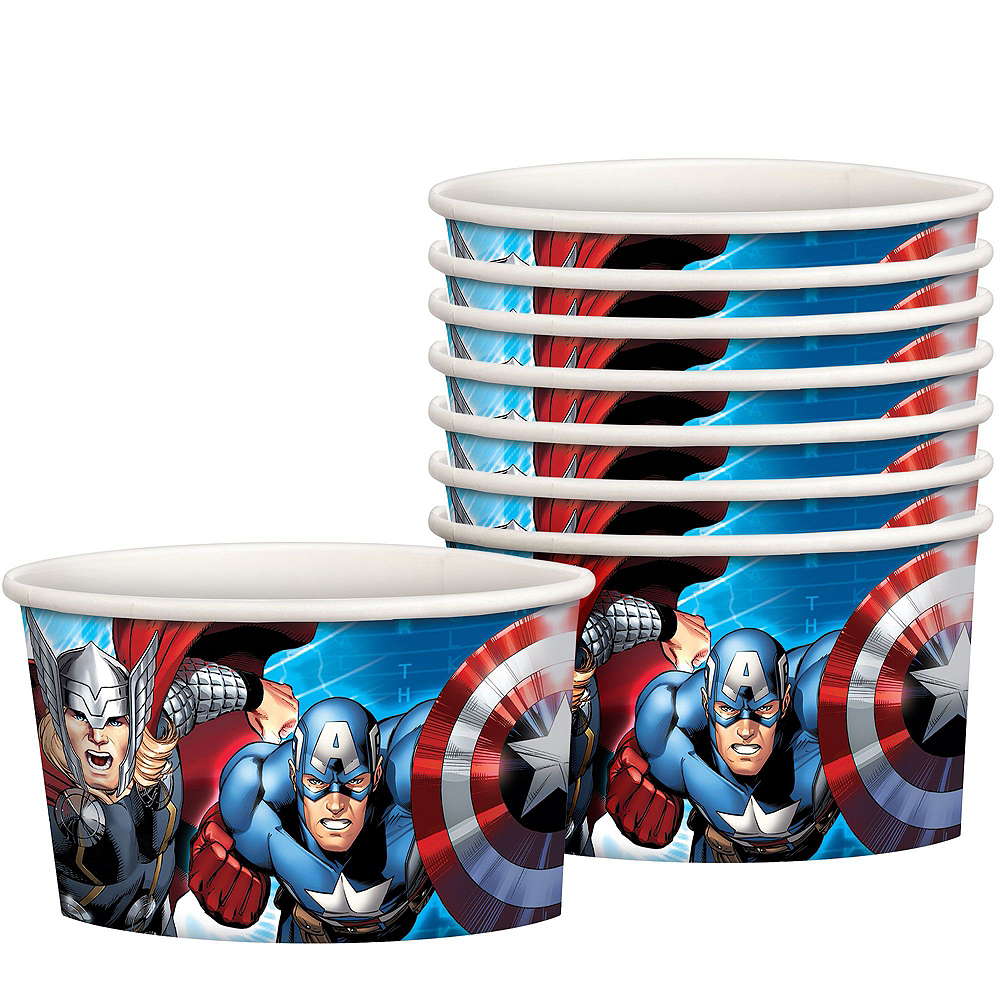 Avengers Standard Tableware Kit for 8 Guests Image #4