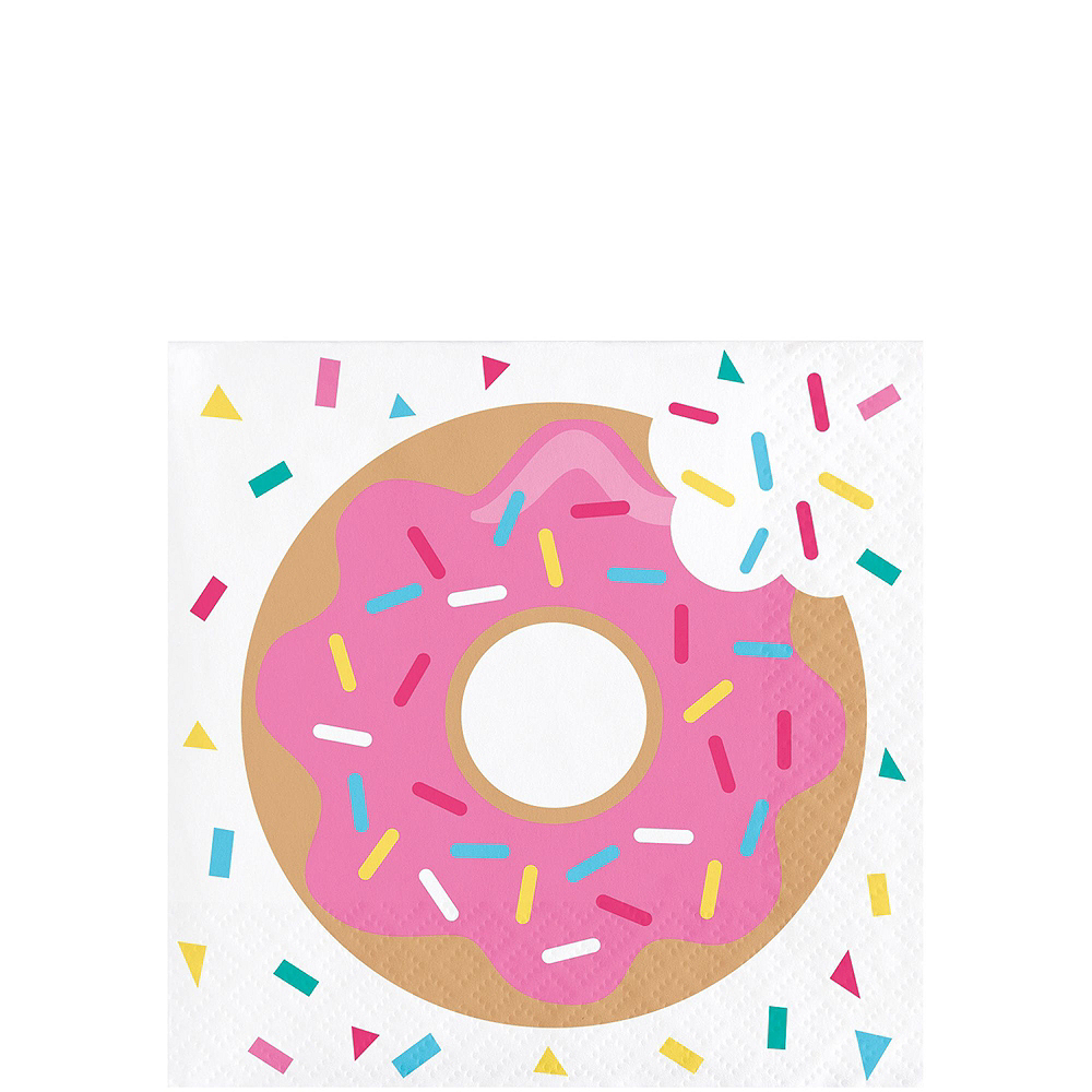 Donut Tableware Party Kit for 8 Guests Image #4