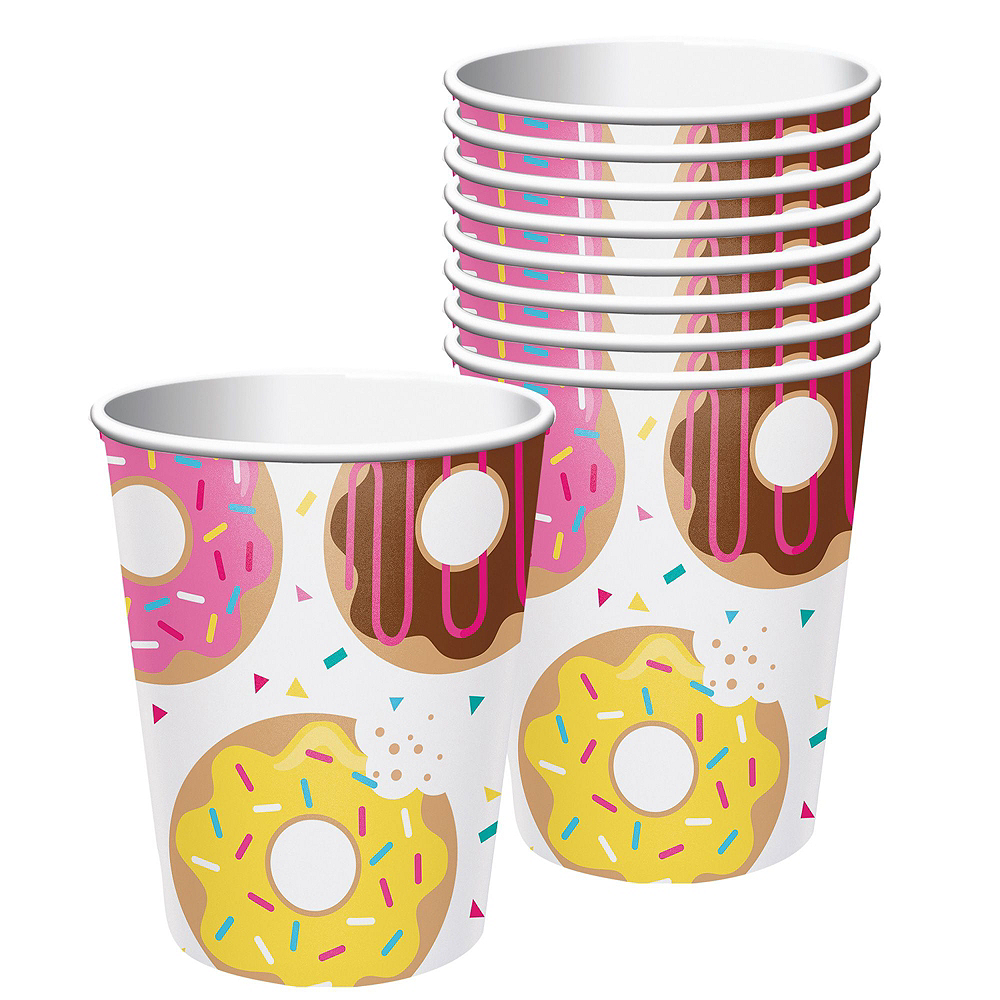 Donut Tableware Party Kit for 8 Guests Image #6