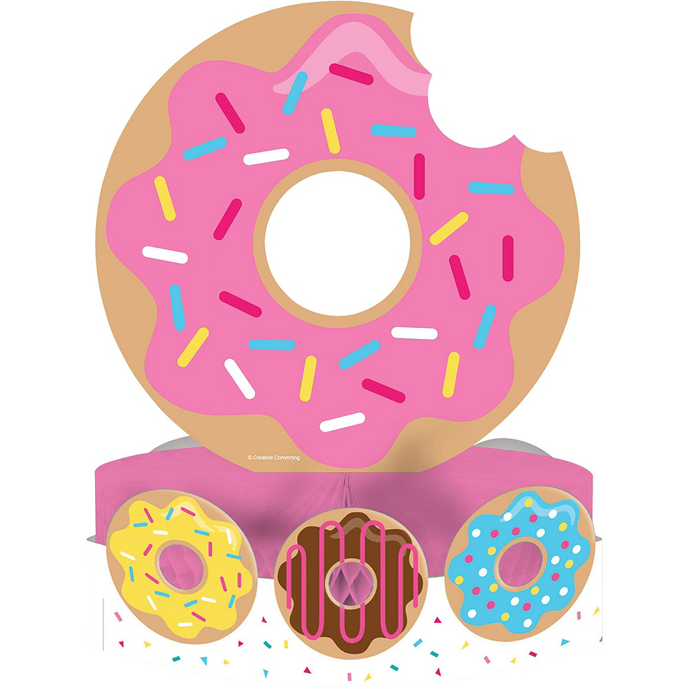 Donut Tableware Party Kit for 8 Guests Image #9