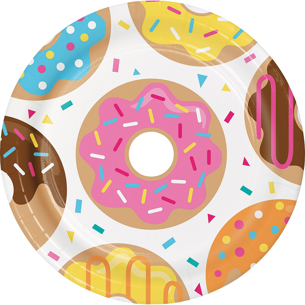 Donut Tableware Party Kit for 24 Guests Image #3
