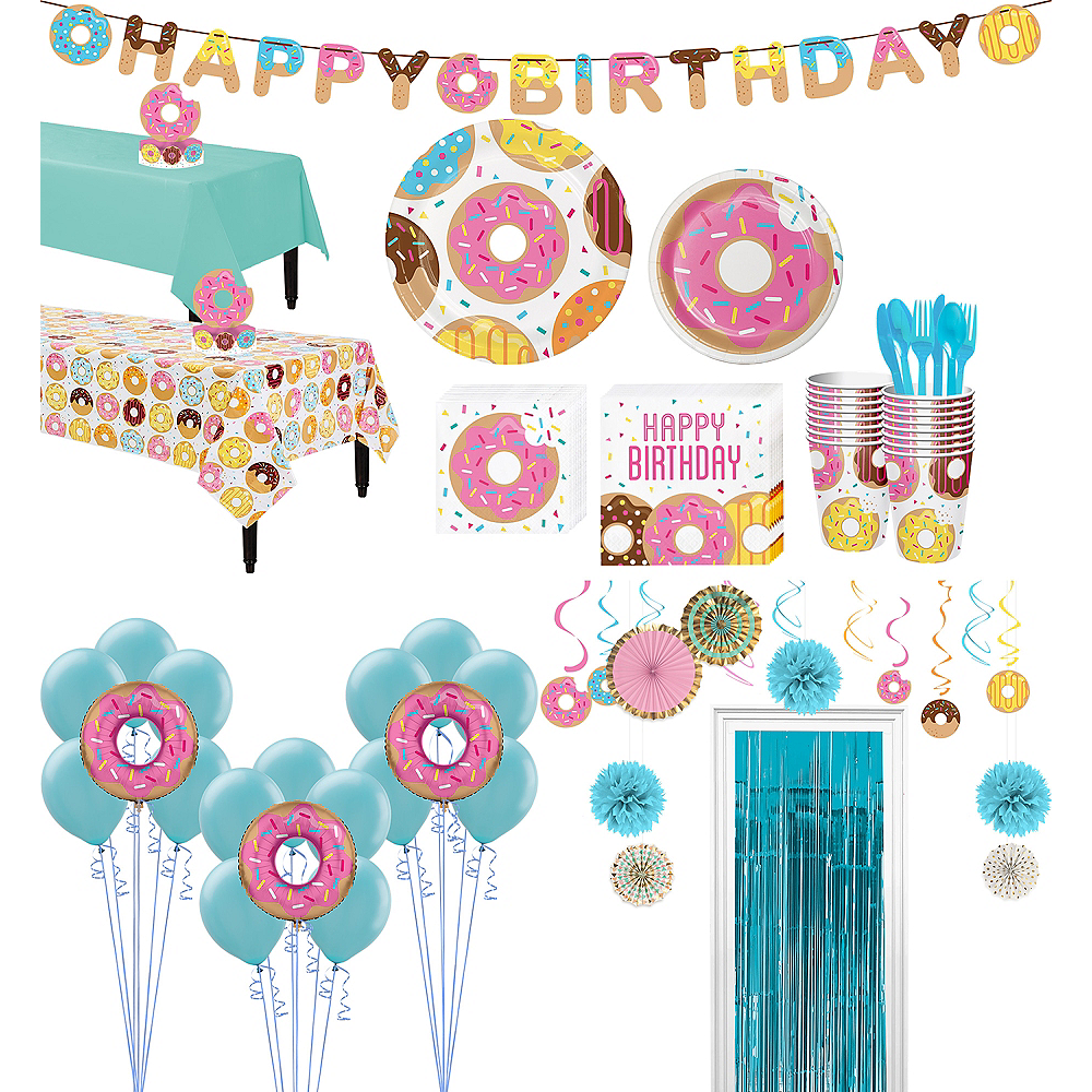 Donut Tableware Ultimate Kit for 16 Guests Image #1