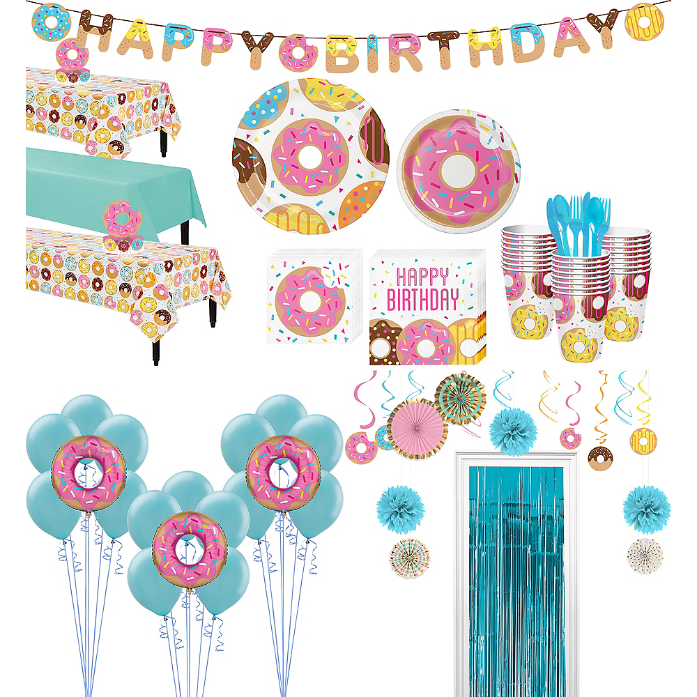 Donut Tableware Ultimate Kit for 24 Guests Image #1