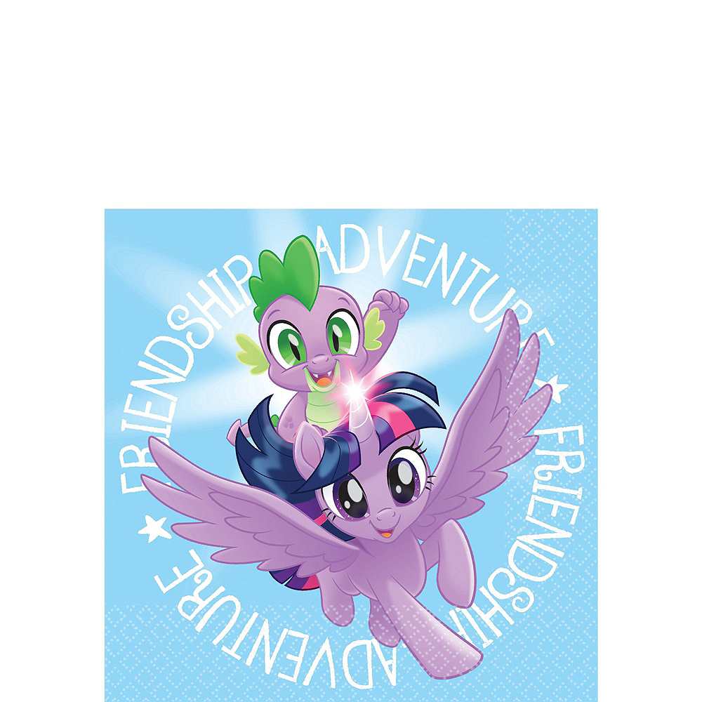 My Little Pony Tableware Party Kit for 16 Guests Image #4